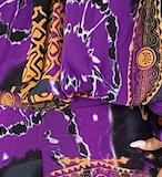 Nora Set- Purple Abstract
