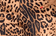 Arin Set - Bold leopard print