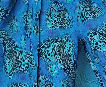 Barbz Kimono - Peacock blue