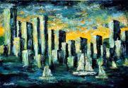 Atlantisz ébredése, 35 x 50 cm