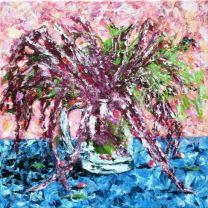 Bogyók a kertemből II, 40 x 40 cm