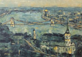 Budapest Impresszió I, 50 x 70 cm