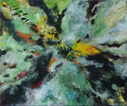 Hipnózisban, 50 x 60 cm, Magántulajdon