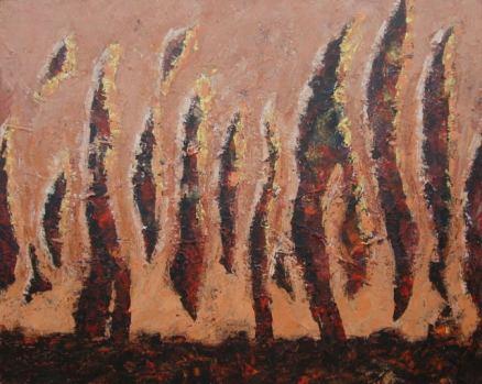 Ösztönlények, 80 x 100 cm