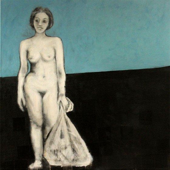 Acryl auf Leinwand, 120 x 120 cm, 2014