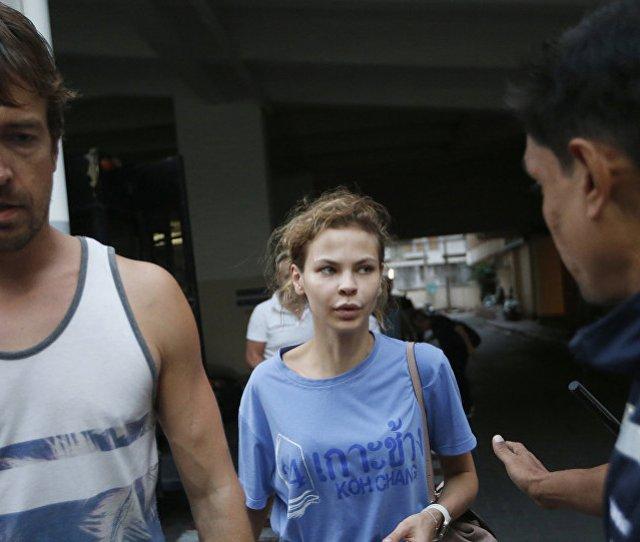 On  February Thai Police Arrested Belarusian Model Nastya Rybka Anastasiya Vashukevich And Her Belarus Born Sex Coach Alex Lesley Alexander