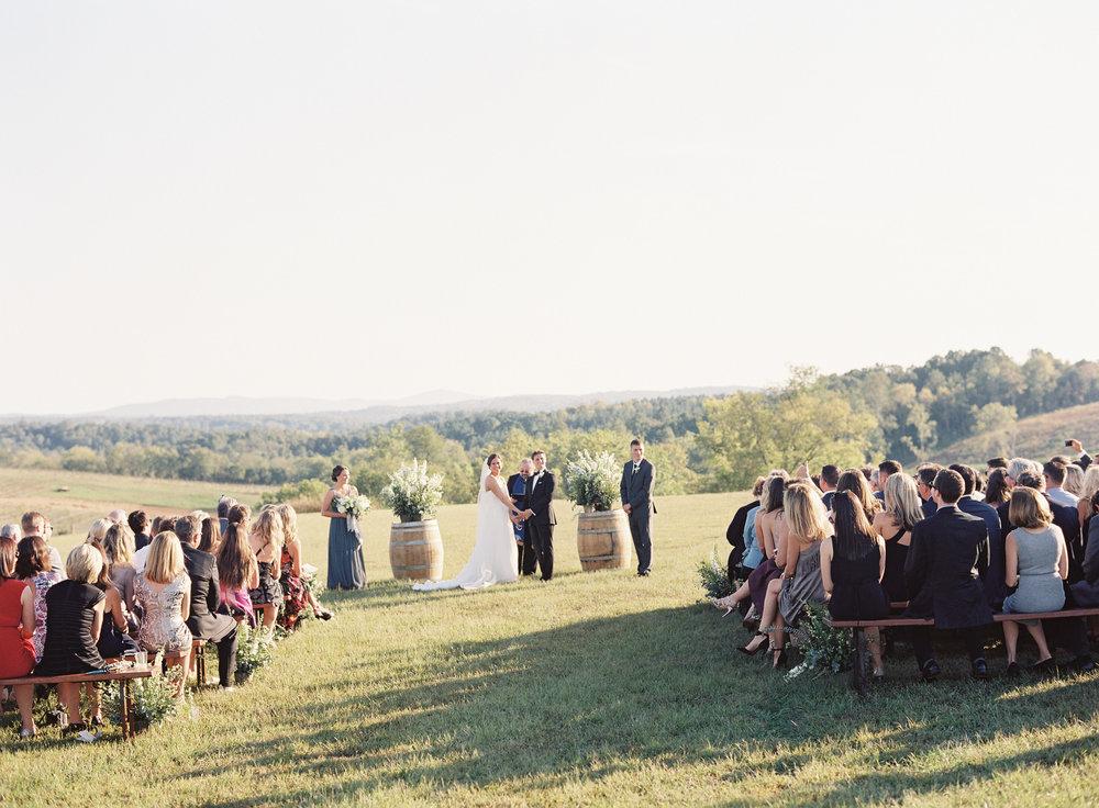 Stone Tower Winery Wedding Ceremony
