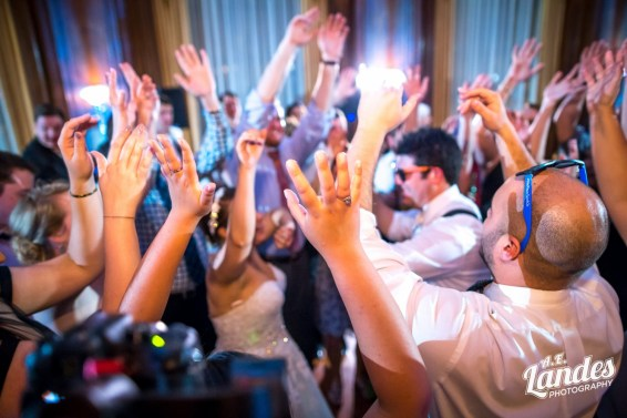 Washington DC Wedding DJ Hands In the Air Party