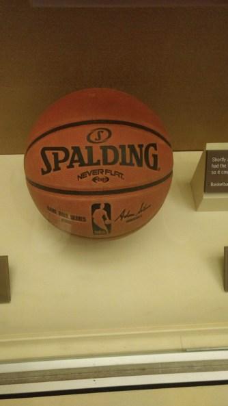 Barack Obama's Basketball.