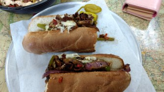 Green Chili Cheesesteak