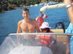 Week-end à Hyères 30 août- bateau Porquerolles en famille