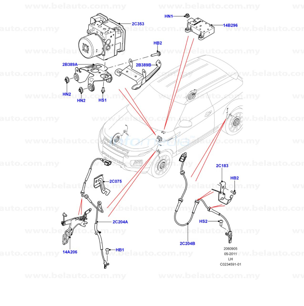 206 09 Chassis Anti Lock Brake System