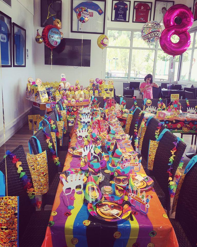 Salles d'anniversaire tous les thèmes