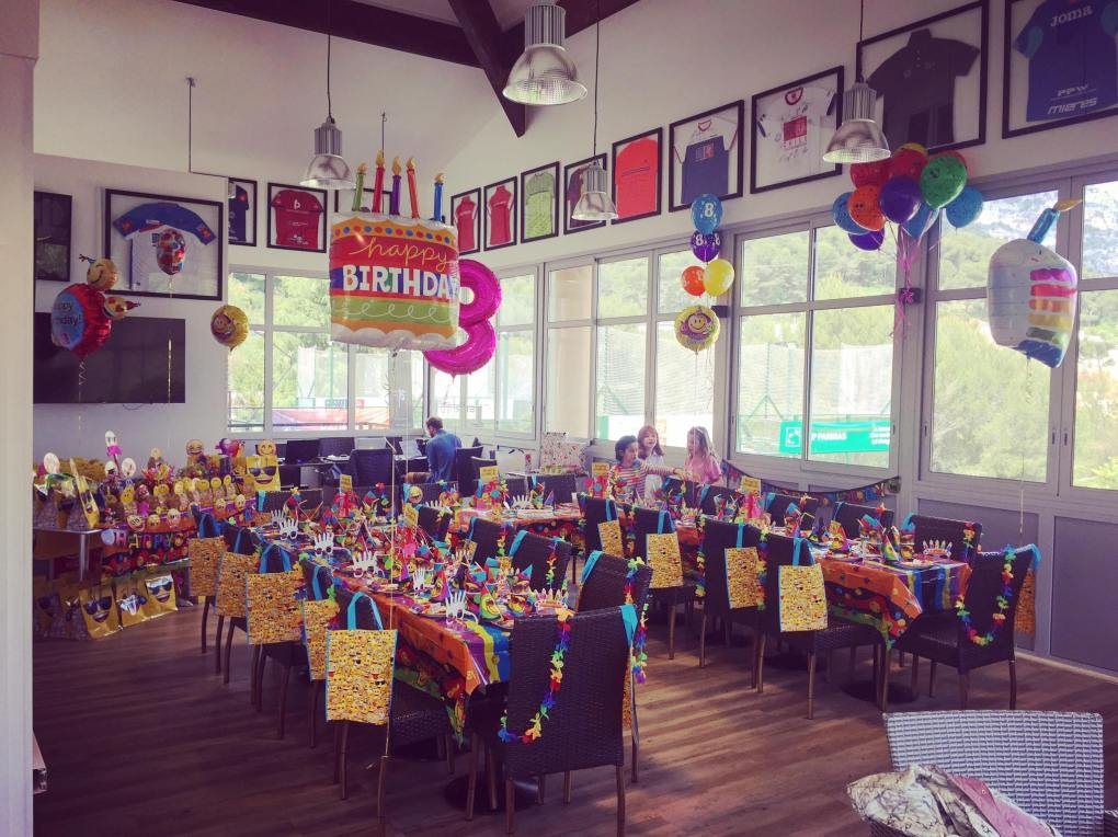 Organisation anniversaires La Turbie - salles