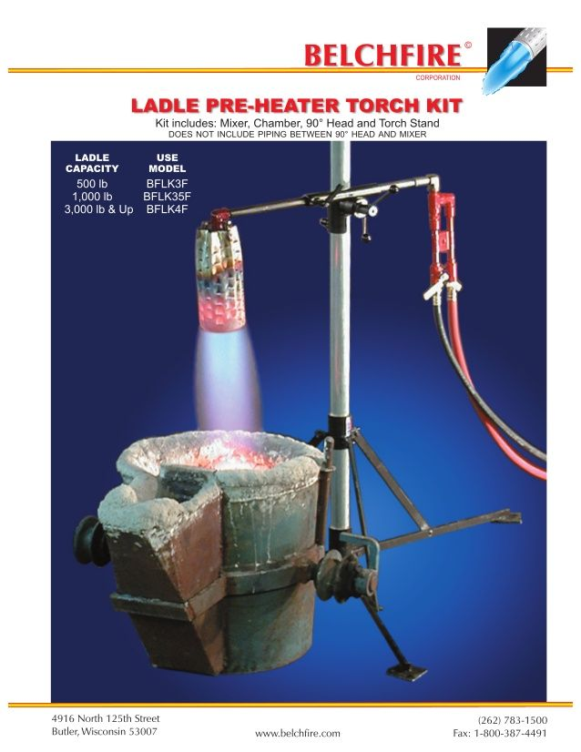 CRUCIBLE HEATING TORCH