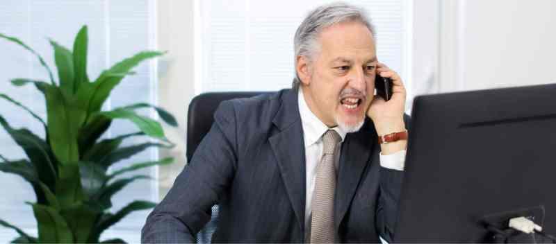 customer who attacks you personally