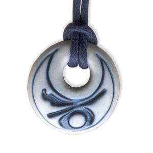 Capricorn zodiac pendant