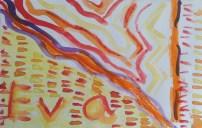 Colores cálidos. Arte en primaria