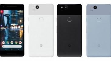 Google Pixel 2 Resmen Tanıtıldı