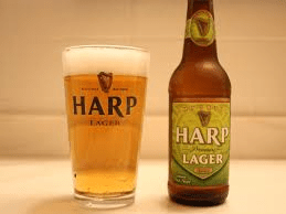 1 a pint of harp