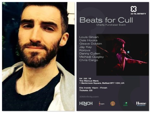 BEATS FOR CULL AT MARCUS WARD AND BELFAST UNDERGROUND