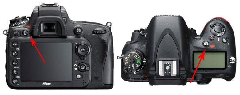 Nikon d610 tombol format kartu memory