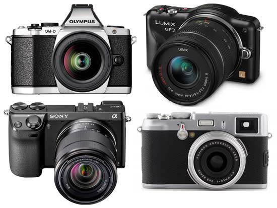 Image result for kamera mirrorless kamera dslr