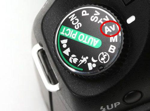 Mode aperture priority 1