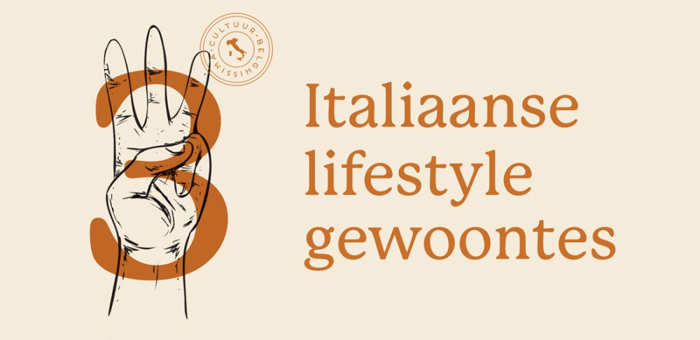 3 italiaanse lifestyle gewoontes