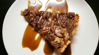 Pecan Pie. Goes great with a sweet English style Barley Wine or nutty stout