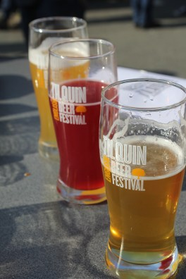 Beers at Tilquin's English Beer Festival