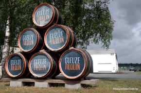 Probably one of the most photographed stack of barrels in the world....