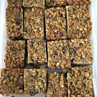 Healthy Vegan Protein Granola Bars
