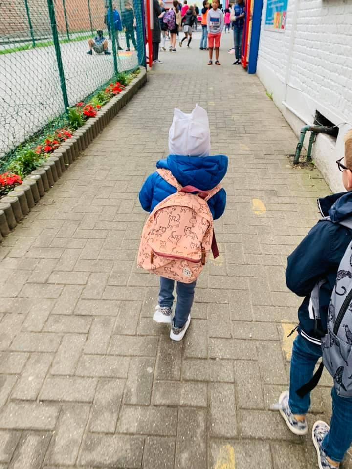 Margaux terug naar school