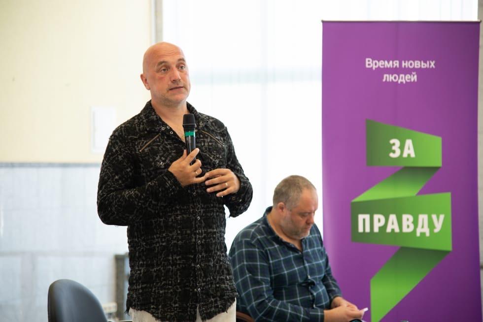 Приезд Захара Прилепина и Николая Новичкова в Белгородскую область