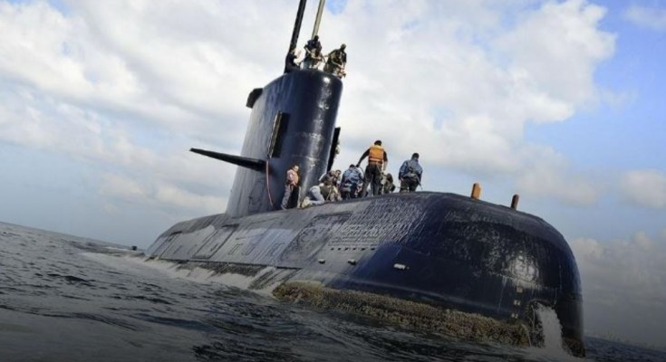 Submarino desaparecido ARA San Juan