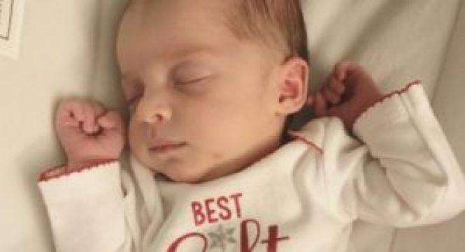 Emma Wren Gibson nació muy saludable (Cortesía)
