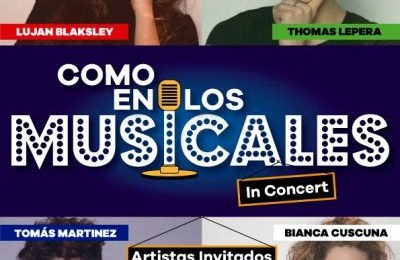 Hoy 30 de octubre se estrena Como en los musicales en el Teatro Picadilly