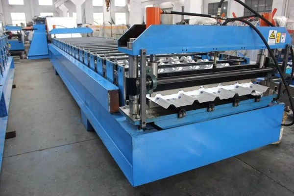 890 ibr sheet roll forming machine