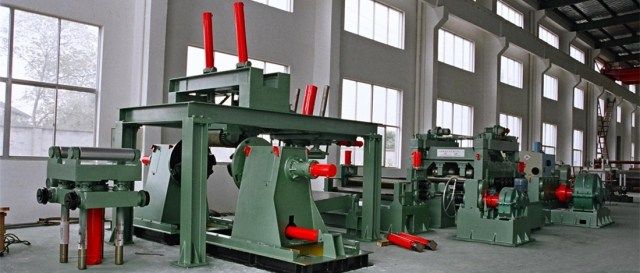 Slitting Line and Cut To length Line Video
