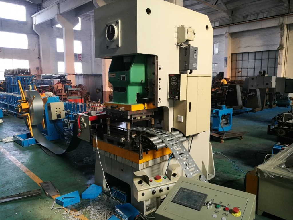 Cable Tray Machine Punch Press