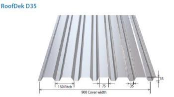 Metal Roof Deck D35