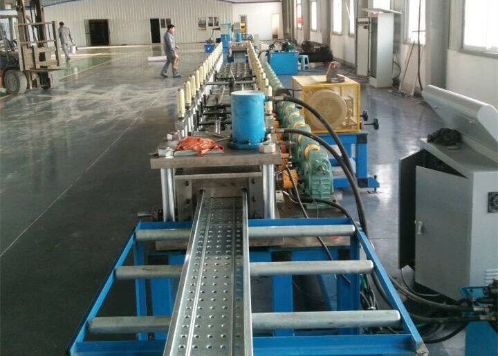 scaffold panel roll forming machine video