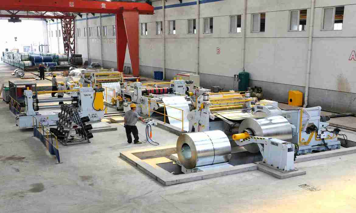 stainless slitting line