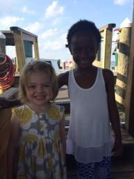 Catherine and Olivia Cooper