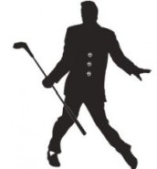 Elvis Golf Pic