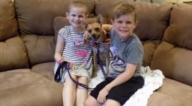 Brianna and dog