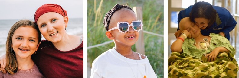 Pictures of children in Believe In Tomorrow's respite housing programs