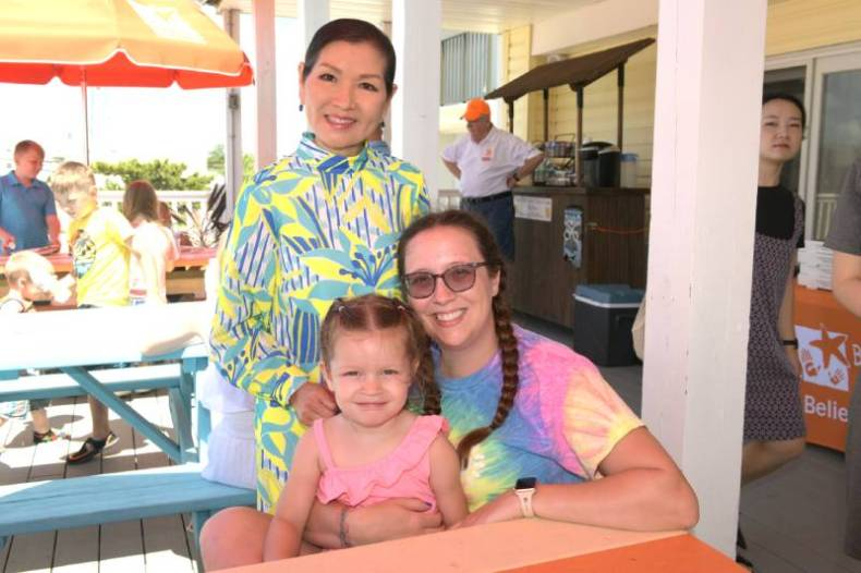 Maryland First Yumi Hogan at the believe in tomorrow children's house by the sea