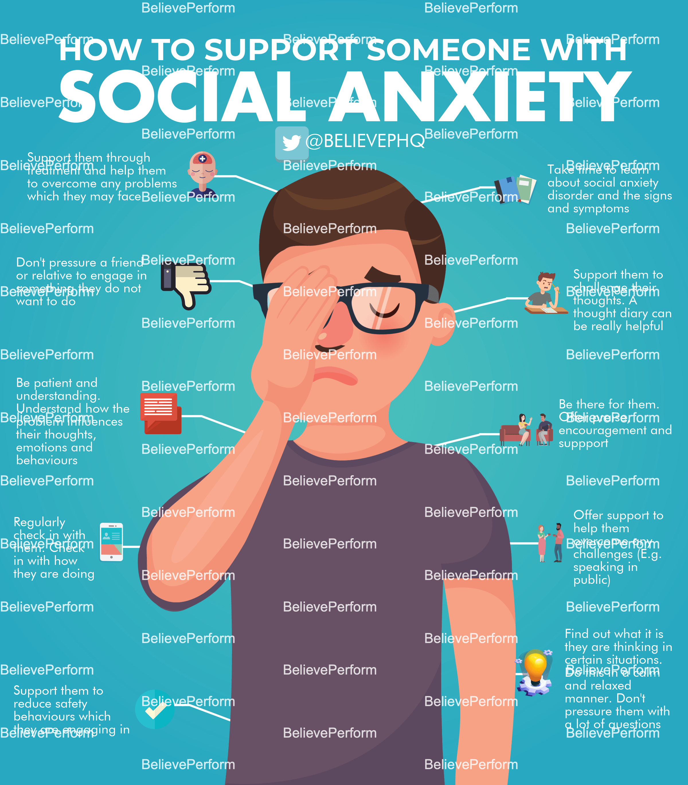 How To Support Someone With Social Anxiety